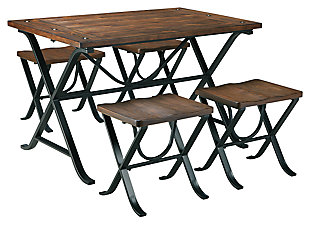Freimore Dining Table and Stools (Set of 5), , large