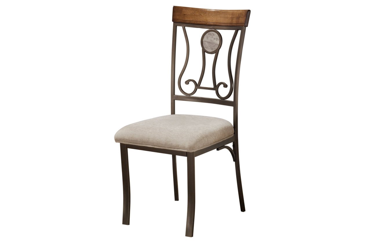 Ashley Furniture Dining UPH Side Chair Hopstand Brown D314