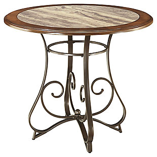 Hopstand Round Dining Counter Height Dining Room Table, , large