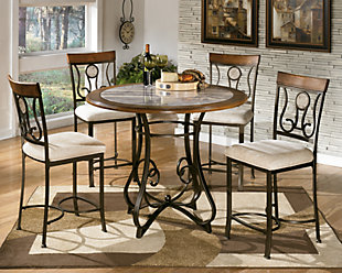 Hopstand Round Dining Counter Height Dining Room Table, , rollover