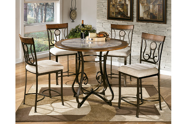 Hopstand Round Dining Counter Height Dining Room Table