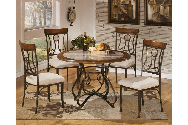 Hopstand Table and Base by Ashley HomeStore, Brown