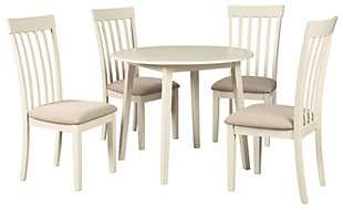Slannery Dining Table and 4 Chairs, , large