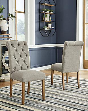 Harvina Dining Chair, Light Gray, rollover