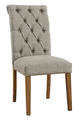 Harvina Dining Chair, Light Gray, large