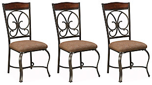 Glambrey Dining Room Chair, Brown, rollover