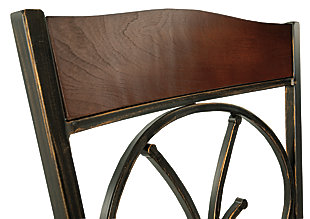 Glambrey Dining Room Chair, Brown, large