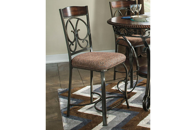Glambrey Counter Height Bar Stool Ashley Furniture Homestore