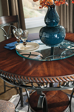 Glambrey Counter Height Dining Room Table, , large