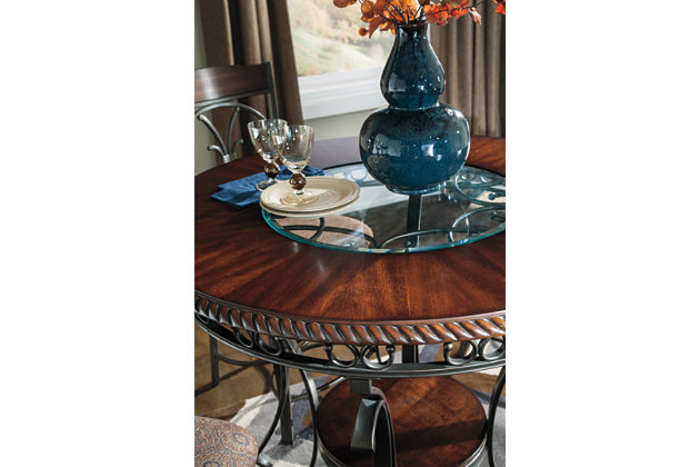 Glambrey Counter Height 5 Piece Dining Room, , large