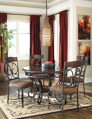 Glambrey 5-Piece Dining Room, , large