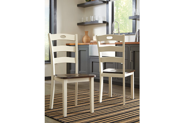 Woodanville Dining Table and 2 Chairs, , large