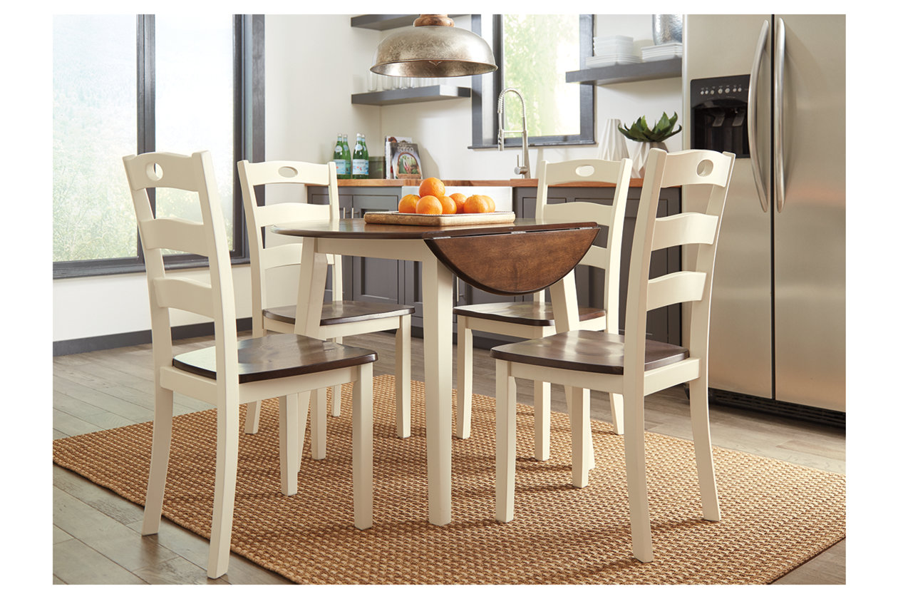 Woodanville Dining Table And 4 Chairs, Woodanville Dining Room Table And Chairs