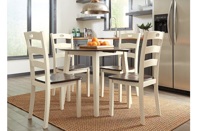 Woodanville 5-Piece Dining Room Set, , large