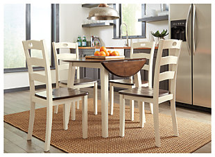 Woodanville Dining Table and 4 Chairs, , rollover