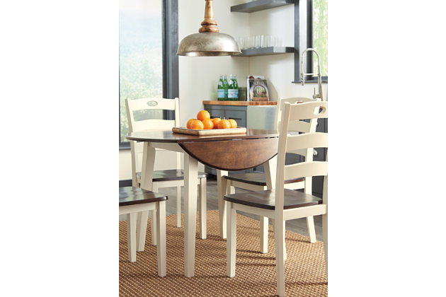 Woodanville Dining Table and 4 Chairs, , large