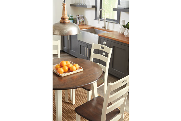 Woodanville Dining Room Drop Leaf Table, , large