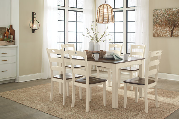 Woodanville Dining Room Table And Chairs Set Of 7