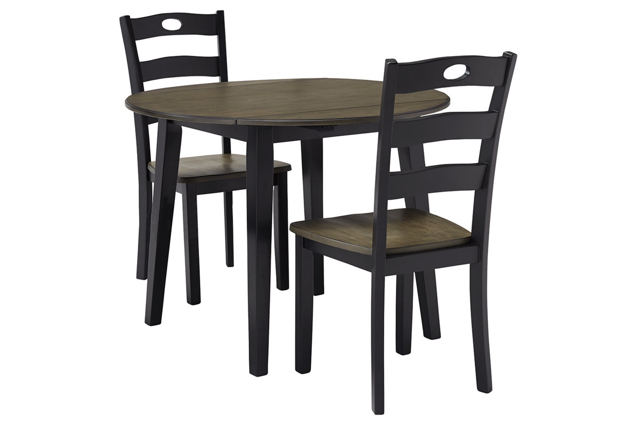 Froshburg Dining Table And 2 Chairs Set Ashley Furniture Homestore