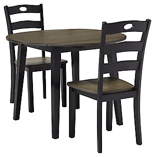 Froshburg Dining Table and 2 Chairs, , large