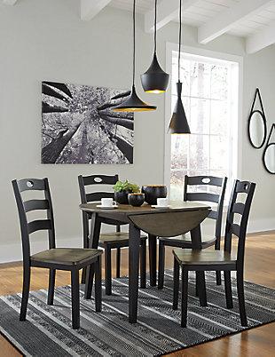 Froshburg 5-Piece Dining Room, , rollover
