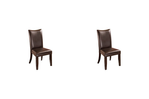 Charrell Dining Room Chair Ashley Furniture Homestore