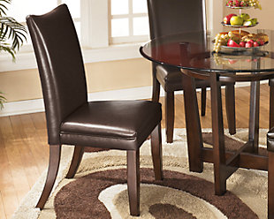 Charrell Dining Room Chair, Medium Brown, Large ...