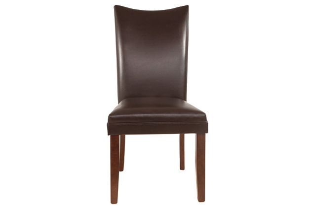 Charrell Dining Room Chair, Medium Brown, large