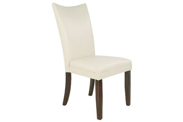 Charrell Dining Room Chair, Ivory, large