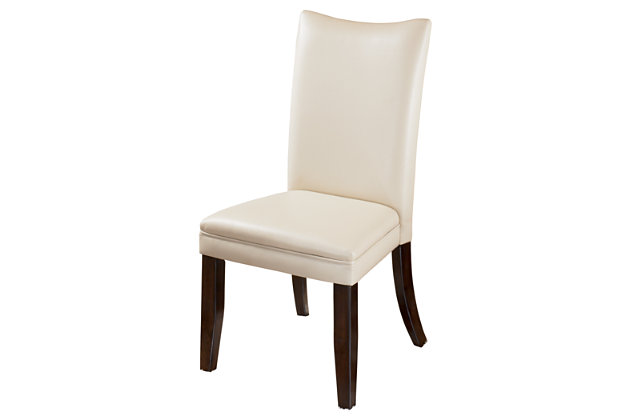 White Charrell Dining Room Chair (Set of 2) by Ashley HomeStore