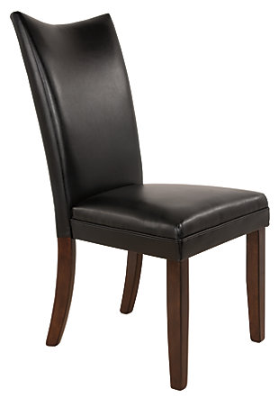 Charrell Dining Room Chair, Black, large