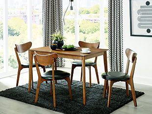 Parrenfield Dining Table and Chairs (Set of 5), , large