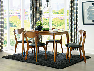 Parrenfield Dining Table and Chairs (Set of 5), , rollover