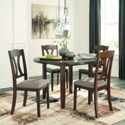 Charnalo Dining Room Table and Chairs (Set of 5), , large