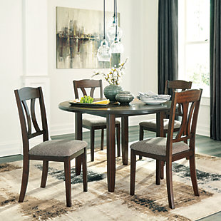 Charnalo Dining Room Table and Chairs (Set of 5), , rollover
