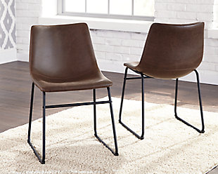Centiar Dining Chair, Brown/Black, rollover