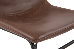 Centiar Dining Room Chair, Brown/Black, large