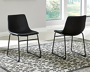 Centiar Dining Room Chair, Black, rollover