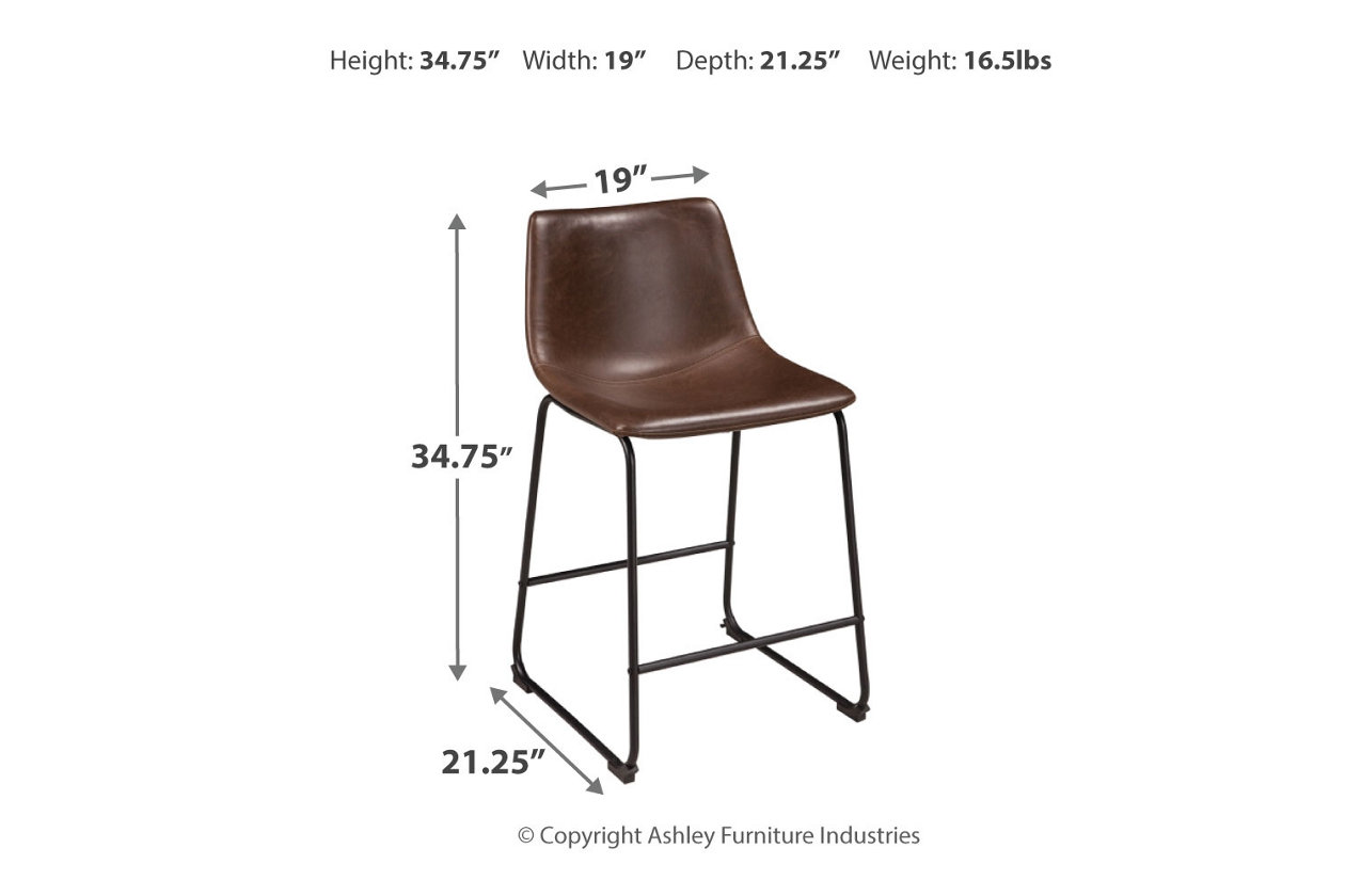 Stupendous Centiar Counter Height Bar Stool Ashley Furniture Homestore Gmtry Best Dining Table And Chair Ideas Images Gmtryco