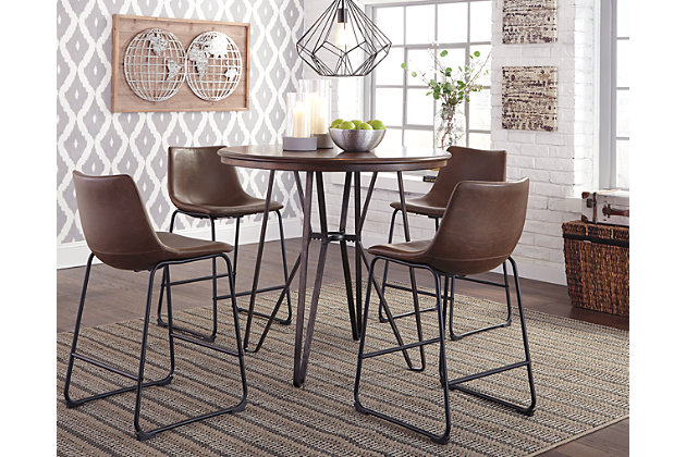Superieur Centiar Counter Height Dining Room Table, , Large ...