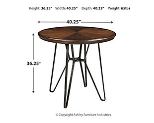Centiar Counter Height Dining Table and 4 Barstools, , large