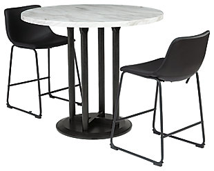 Centiar Counter Height Dining Table and 2 Barstools, , rollover