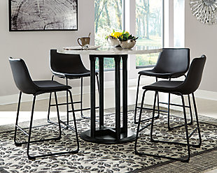 Centiar Counter Height Dining Table and 4 Barstools, , rollover
