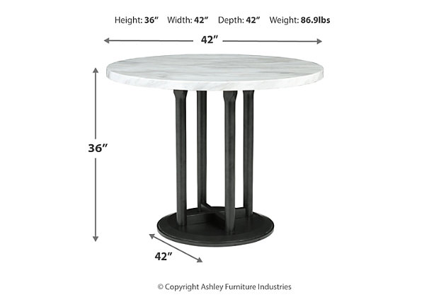 Centiar Counter Height Dining Table, , large