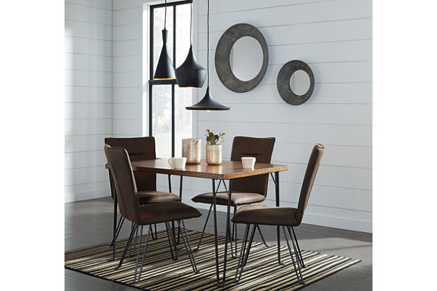 Moddano 5-Piece Dining Room, , large