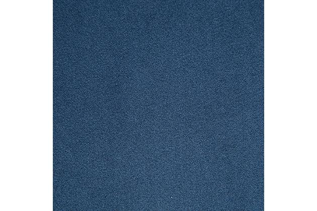 Tallenger Counter Height Bar Stool, Blue/Dark Brown, large