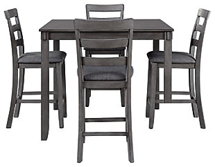 Bridson Counter Height Dining Table and Bar Stools (Set of 5), , large