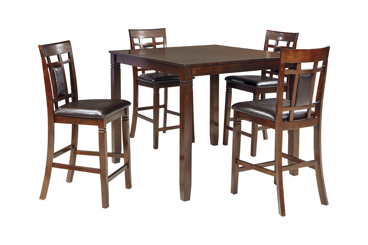 Bennox Counter Height Dining Room Table And Bar Stools