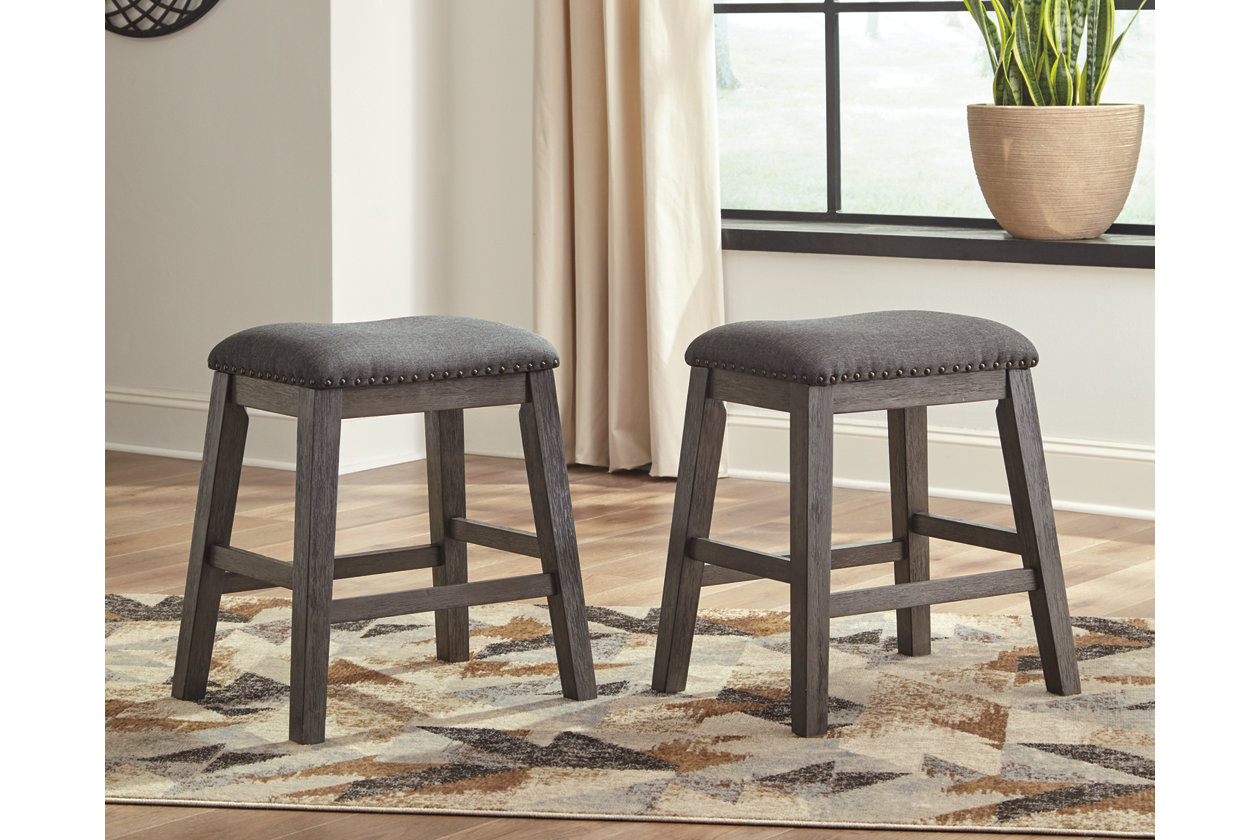 Brilliant Caitbrook Counter Height Upholstered Bar Stool Ashley Gmtry Best Dining Table And Chair Ideas Images Gmtryco