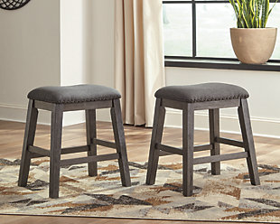 Caitbrook Counter Height Upholstered Bar Stool, , rollover